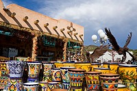 Craft store, Velarde, Taos, New Mexico, USA