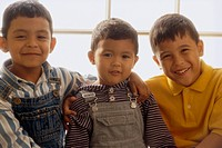 Portrait of Smiling Young Boys