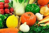 Vegetables, Fruits, Ingradients and Spices
