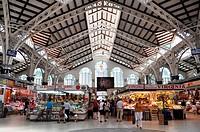 Valencia, Spain: the Mercado Central