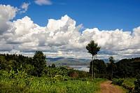 Rwanda, Virunga Area, Lake Ruhondo