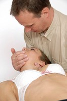 Osteopathy  Massage for the problems of swallowing