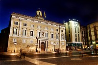 Generalitat Palace  Sant Jaume Square  Barcelona, Catalonia, Spain