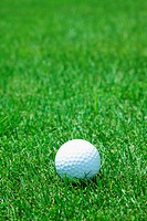 Close Up Of Golf Ball