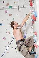 Climber Ascending