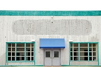 A vacant storefront building in St.Louis, MO USA