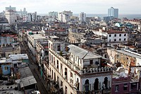 Rooftop view over central Havana