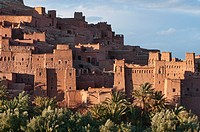 the ancient kasbah of Ait Benhaddou UNESCO World Heritage Site, Morocco