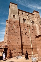 traditional kasbah in the Southern Atlas Mountains, Morocco