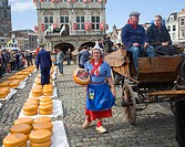 Gouda and cheese market, South Holland, Netherlands