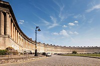 Royal Crescent in Bath is one of the city´s great landmarks and is a huge tourist attraction It was designed by John Wood and built between 1767 and 1...