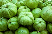 Asia, Thailand, Pattaya, market, seedless guavas for sale