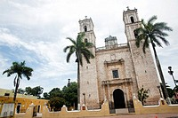 Cathedral of San Gervasio, Valladolid, Yucatán Peninsula, México