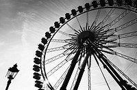 Big wheel at funfair in Berlin, Germany