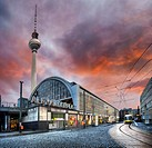 :  Alexander Platz subway station, Berlin