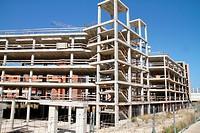 Spain , balearic island , building site