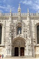 Lisbon Portugal  Jeronimos Monastery in Lisbon