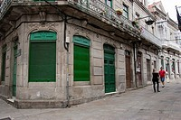 Street of Cangas, Morrazo Shire, Council of Cangas, Rias Bajas, Pontevedra, Galicia, Spain, Europe