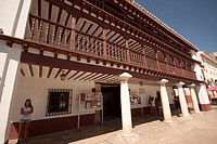 Posada de los Portales, an old lodging in the city of Tomelloso, Ciudad Real, Castilla La Mancha autonomous region, Spain