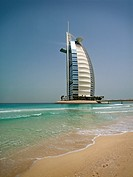 Burj Al Arab from the hotel beach