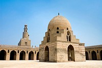 Ahmed Ibn Tulun Mosque, Cairo, Egypt, North Africa, Africa