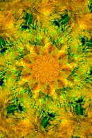 Kaleidoscope yellow