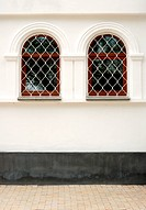 two arch window