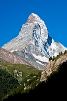 Matterhorn, Zermatt, Wallis or Valais, Switzerland
