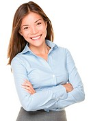 Smiling Asian Business Woman