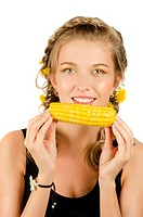 woman eating corn_cob