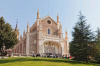 St. jerome royal church, madrid spain