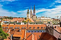 Zagreb _ view from upper town