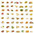 56 dishes