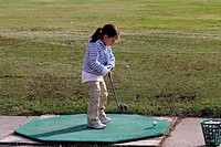 Golf practise