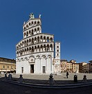 Lucca, Italy, Europe, Tuscany, Toscana, place, church, knows