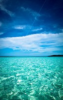 Beautiful Natural tropical ocean landscape