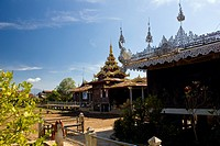 A monastery in Inle Lake, Burma