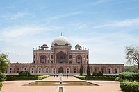 Humayun´s tomb, UNESCO World Heritage Site, New Delhi, India