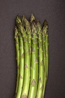 A bunch of asparagus, close_up