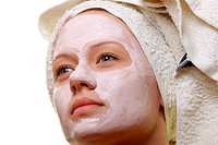 Masked Beauty _ facial treatment