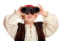 Kind als Pirat verkleidet