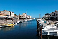The pretty village of Marseillan Port on the Mediterranean is a favorite of local sailors