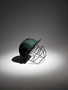 Studio shot of a helmet