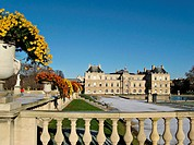 The Luxembourg Palace in Paris, France