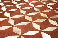 Flooring in Taj Mahal