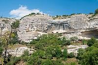 Crimean cliffs