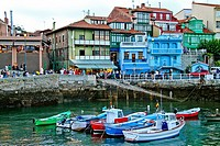 Fishing Port at Luanco, Asturias, Spain