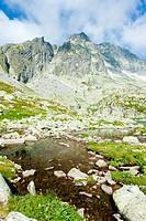 Five Spis Tarns, High Tatras Vysoke Tatry, Slovakia
