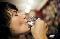 Already 19 people died due to poisoning from metylalkohol in the Czech Republic A woman drinks alcohol in a bar in Prague, Czech Republic on September...