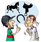 Equestrian slang